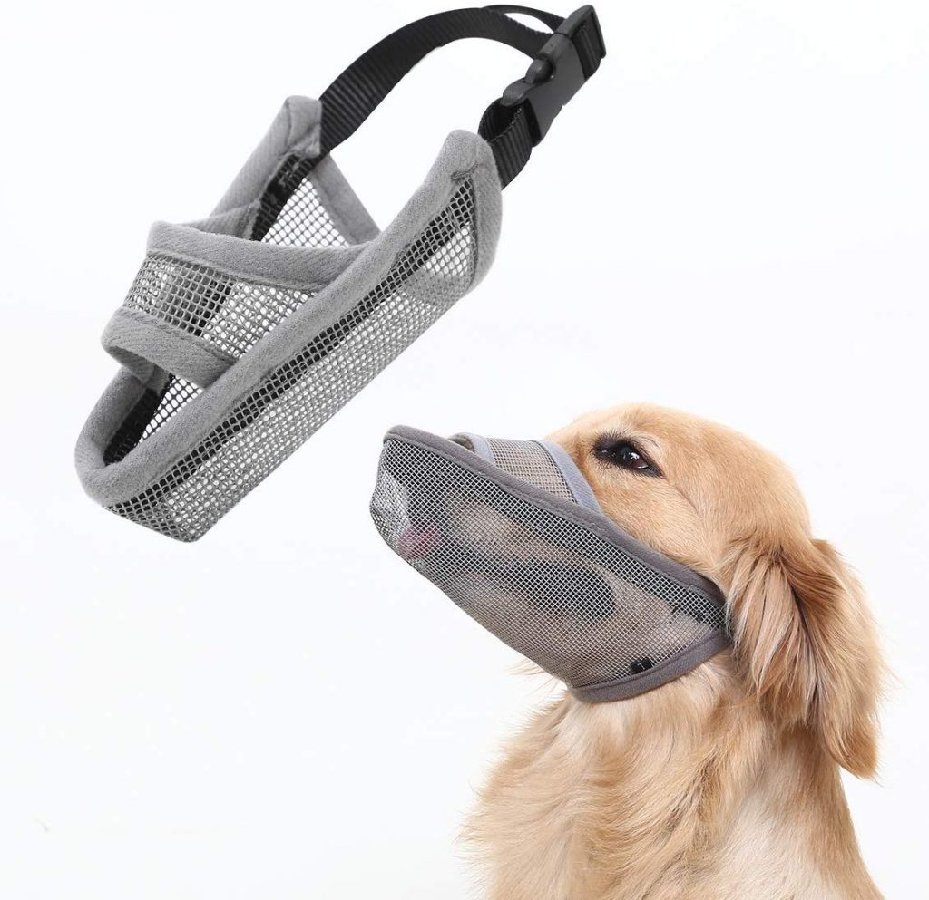Half mouth dog masks
