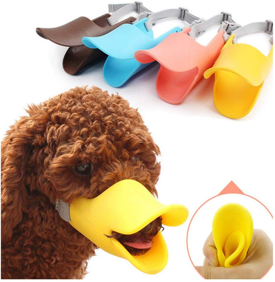 Yellow duck dog masks