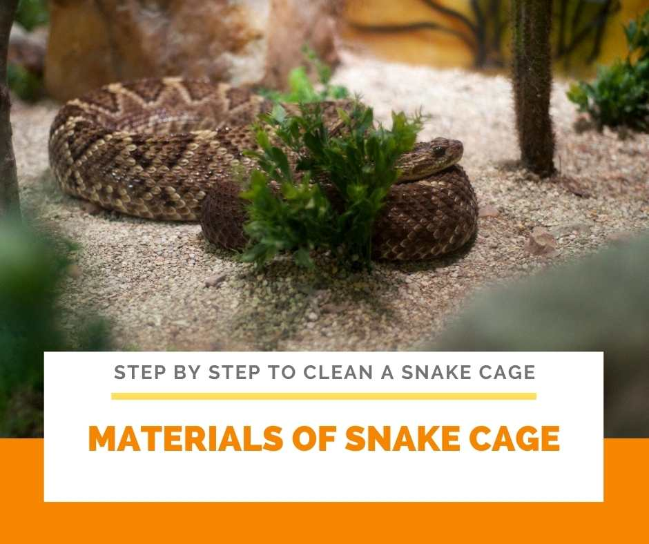 Materials Of Snake Cage